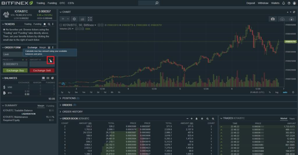 Bitcoins en IOTA - 02 - Calculer montant