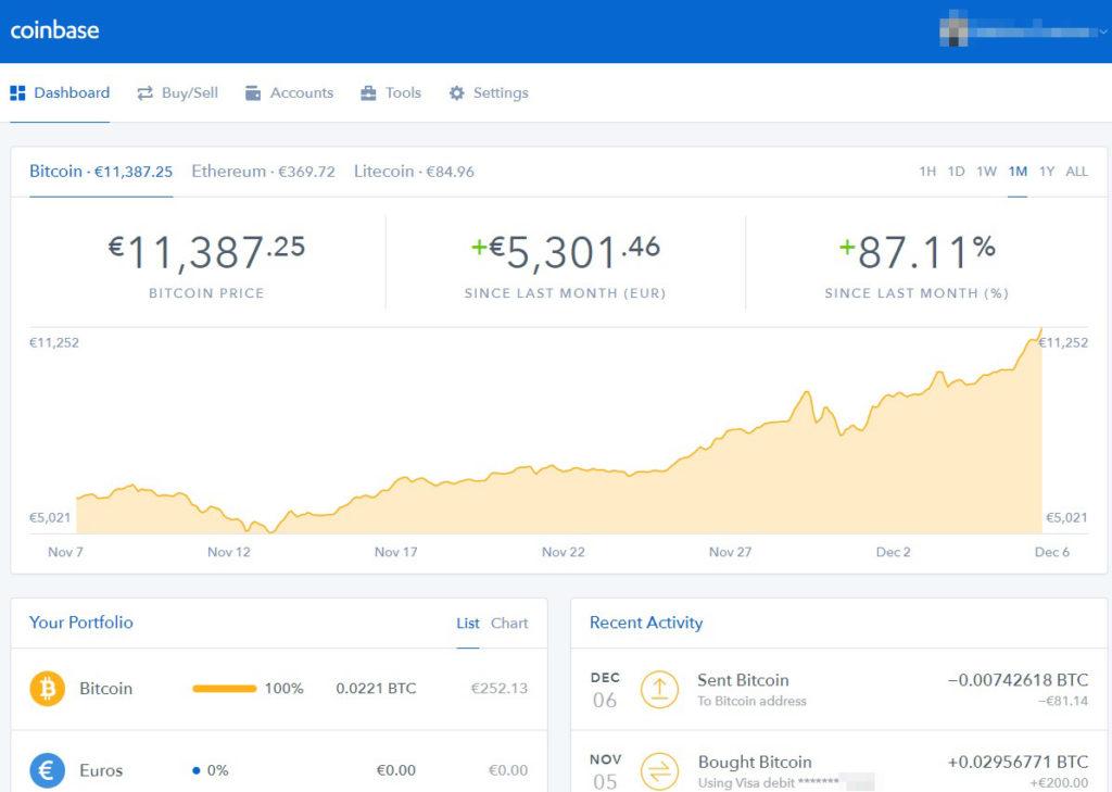 Tuto Bitcoins Coinbase vers Bitfinex - 12 - confirmation coinbase