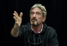 photo John McAfee bitcoin