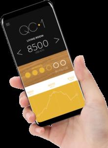 qarnot qc-1 smartphone app